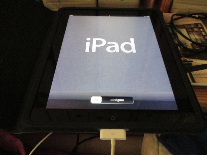 L'iPad rêvé est arrivé. Cinq ans d'attente. © gaelle kermen 2015