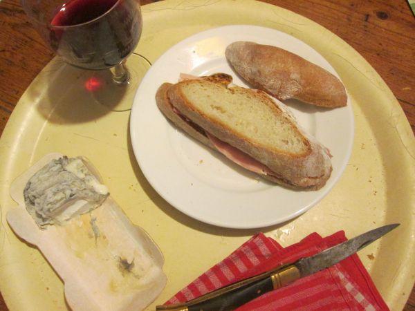 petit casse-croute au pain maison