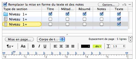 retraits de texte compilation scrivener
