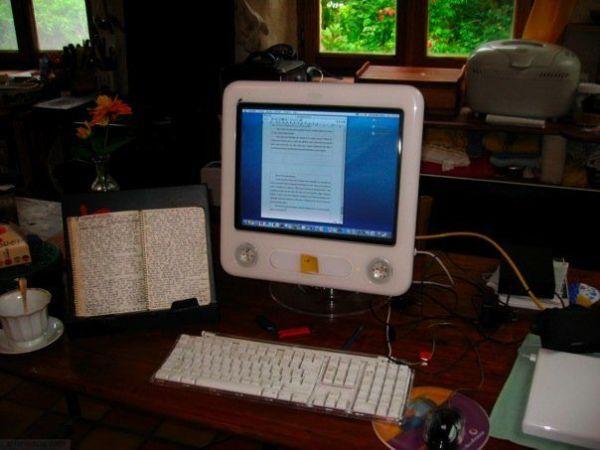 eMac saisie cahiers