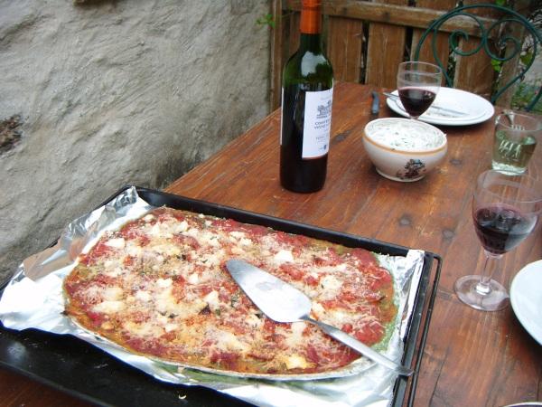 pizza bourrache