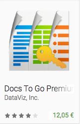 Docs To Go Premium Key