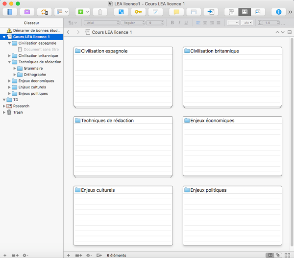 Modèle sur Mac de bureau