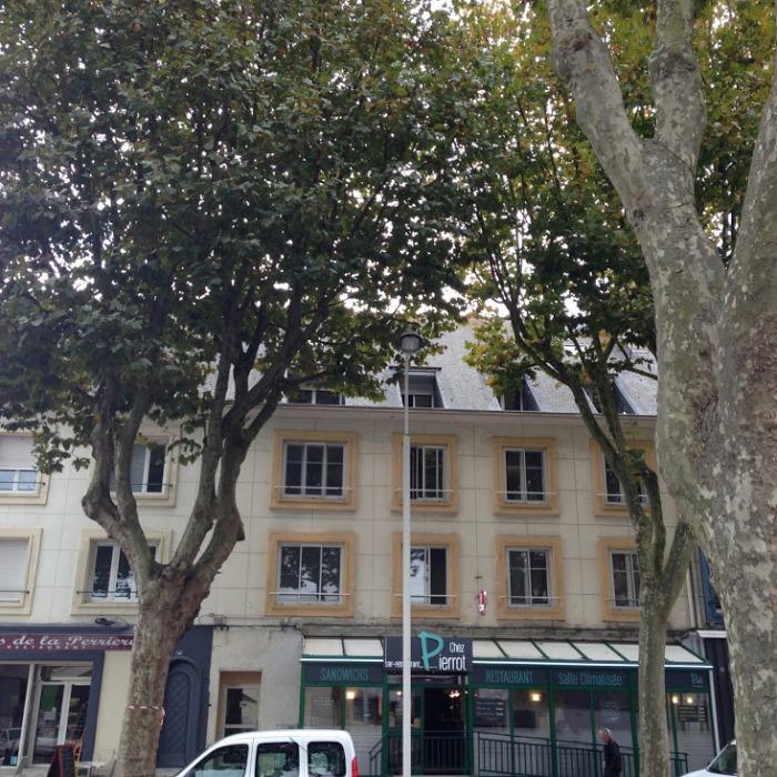 Chez Pierrot, restau ouvrier, avenue de la Perrière, Lorient, Port de pêche