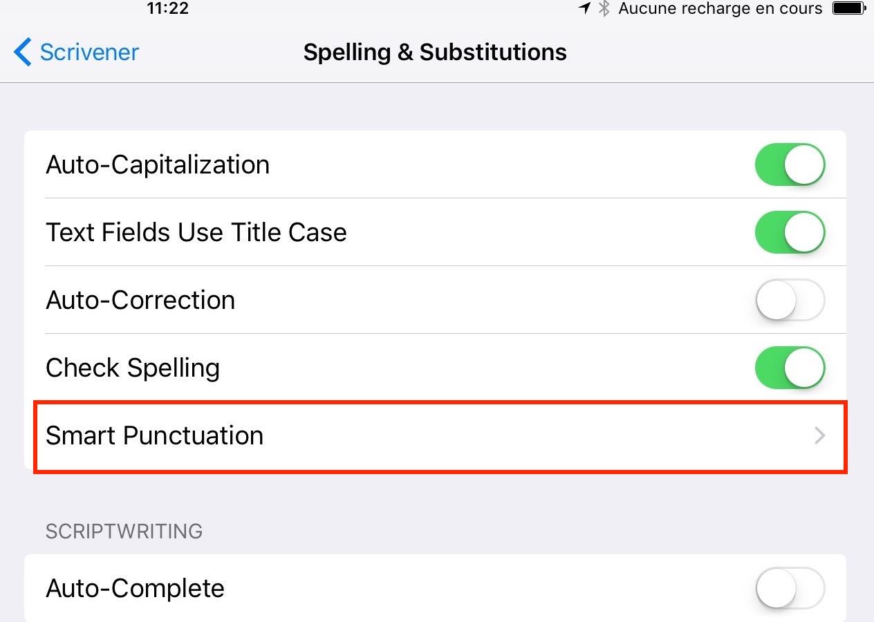 Reglages-SmartPunctuation