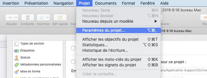 1-ParametreduProjet